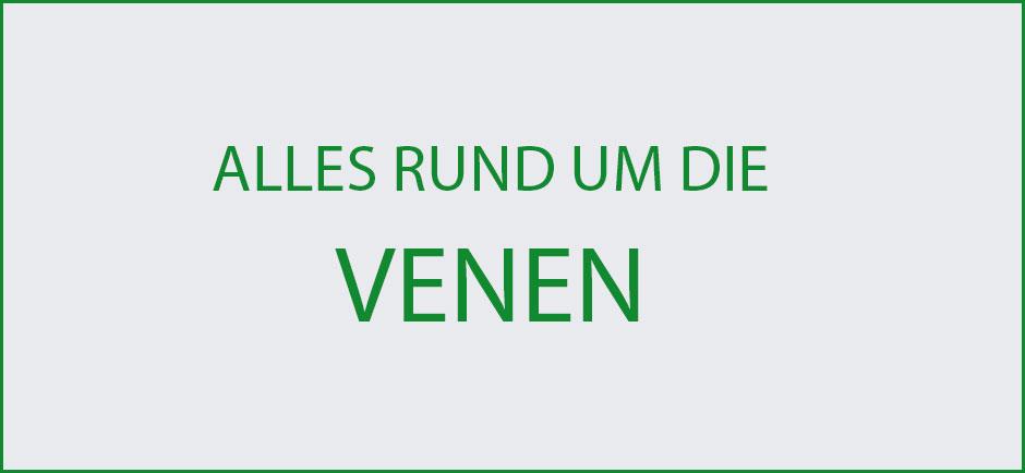 Wissenswertes-Venen-Uebersicht